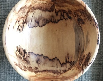 Maple salad bowl