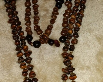 Coffee bean necklaces