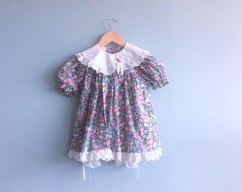 Vintage Baby Dress with Pantalettes