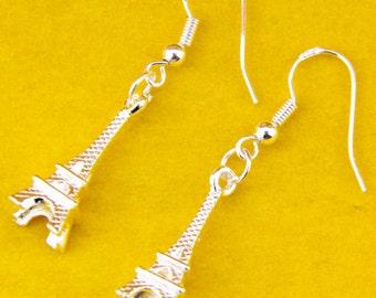 Travel Jewelry, Travel Earrings, Eiffel Tower, Earrings
