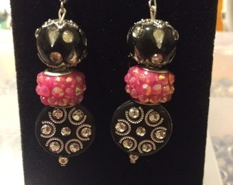 Punk rock black dangles