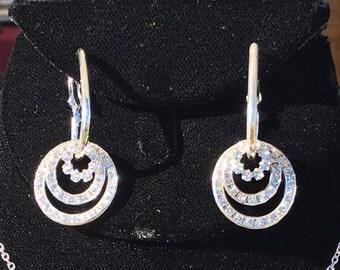 Nickel Free (100%) Silver Swarovski Crystal Earrings