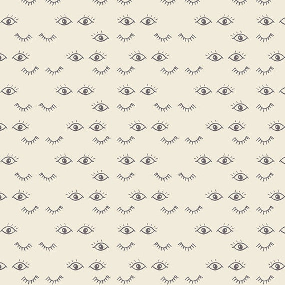 "End of Bolt|| ORGANIC || Meadow Dreams Pure || Hello, Ollie by Bonnie Christine for Art Gallery Fabrics || 23"" x WOF 