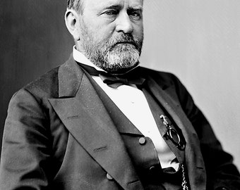 Ulysses S. Grant - 18th President of the United States - 5X7, 8X10 or 11X14 Photo (BB-066)