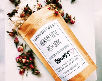 Premium Salts Bath Soak 'Lovely'