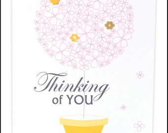 Thinking of you Greeting Card #LSY-169