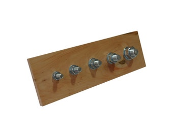 The block with screws