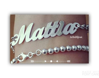 Stainless steel with custom name