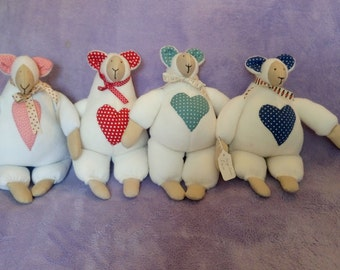 Large Lamb, Soft toy, Fleece toy, Children's toy