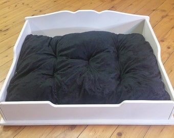 Hand Crafted Wooden Dog Beds