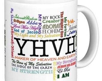 Christian mug names of God