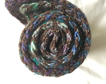 Child wool Noro striped scarf / Children