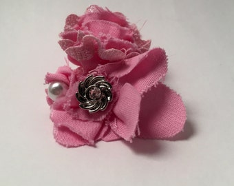 Pretty Pink Large Hair Clip