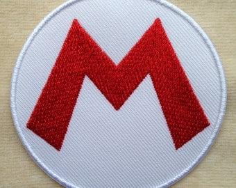 Super Mario Logo Iron On Patch