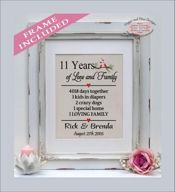 11 Year Wedding Anniversary Gift 005 - 11 Year Wedding Anniversary Gift