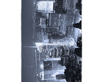 B&W New York City Beach Towel