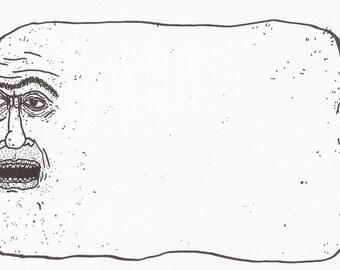 Fat Head Original Drawing