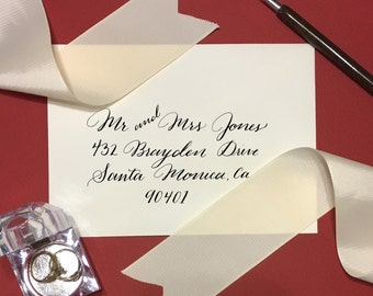 Custom Envelope Calligraphy for Any Occasion