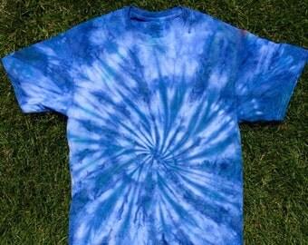 Blue Swirl Tie Dye