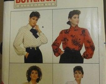 PATTERN BUTTERICK 4037 BLOUSE Chic ladies Vintage