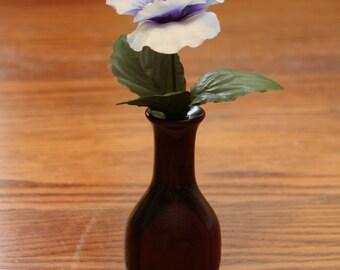 Bud Vase, Vase, Miniature vase, Flower display, Exotic wood, Wood turning
