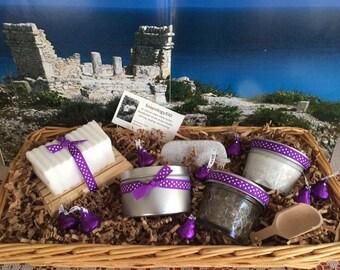 Lavender Comfort Gift Basket