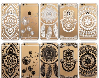 Phone case For Apple iPhone 4 4S 5 5S 5C 6 SE 6 S 6 6s Plus Soft Silicon TPU Transparent Slim Cover