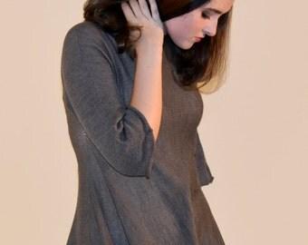 Transparent Wool Oversize Dress/Tunic, Free Shipping