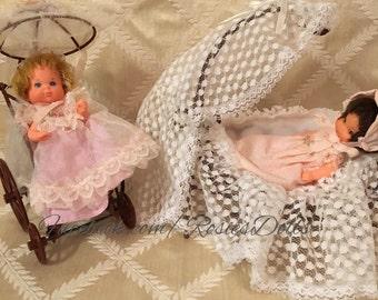 Vintage 1976 Mattel Rosebud Doll Sets