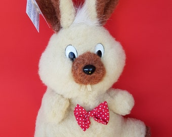 Hand puppet toy; rabbit toy; 100% woolen toy; organic toy; kids toy; baby toy