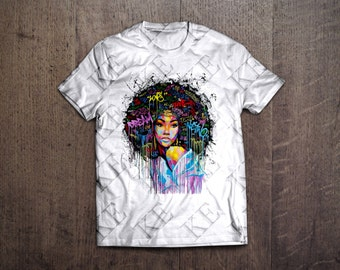 Natural Colors Afro T-Shirt