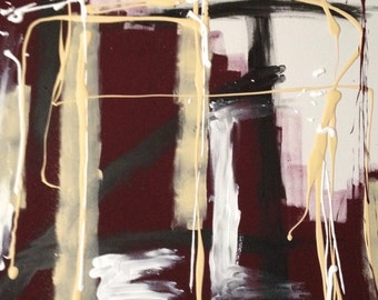 Abstract Painting, Original Art, Wall Art