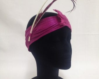 Turban silk made by hand