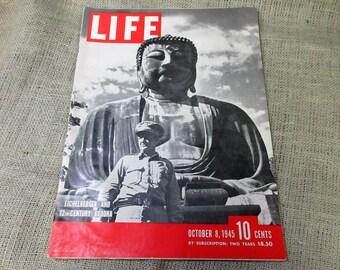 October 8, 1945 Life Magazine General Eichelberger