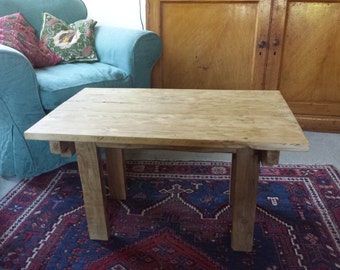 Hand Crafted Coffee Table Made From Upcycled Wood