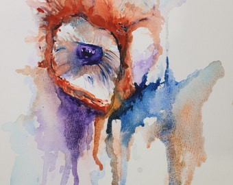 Owl - Beautiful Watercolour Painting of a Barn Owl