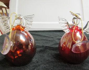Hand Blown Glass Angels