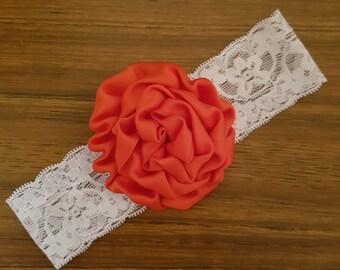 Girls Lace Baby Headband