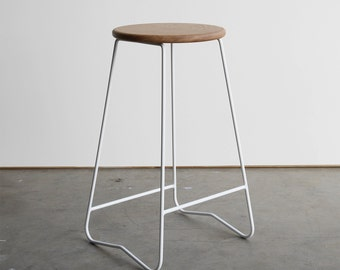 HOPA bar stool - White (750mm)