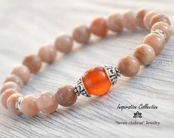 Elegant beaded bracelet|Gift|for her|Gemstone Bracelet|Yoga|bracelet|Energy Bracelet|Yoga Jewelry|Healing Bracelet