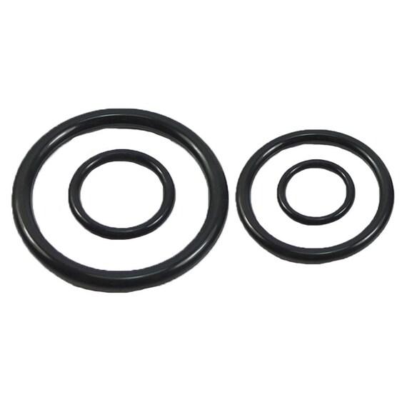 50 Pcs Plastic O Rings ring for Dee webbing Belts Buckles Bag 3/4\