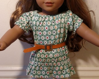 Flower Tunic with Leggings for 18 Inch Doll