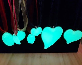 Glow in the dark necklaces.