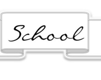 School label - Simple Collection