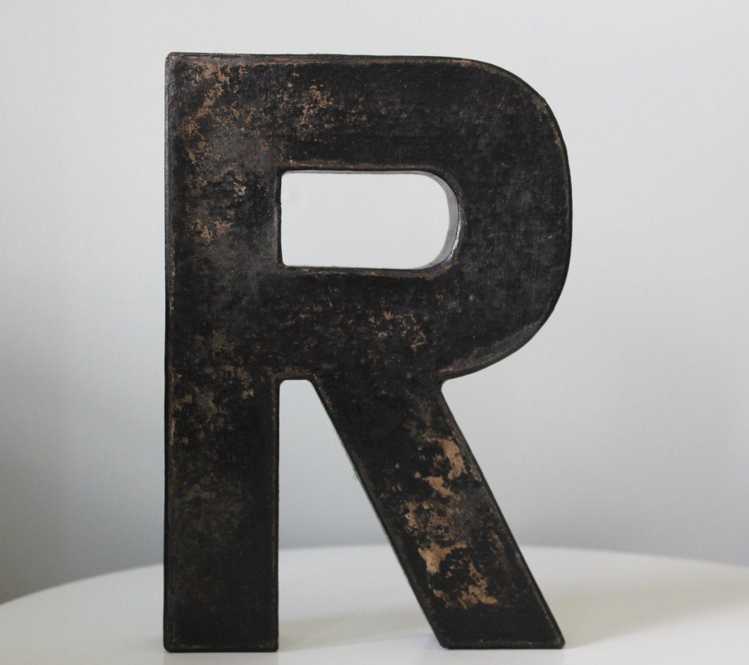 distressed wood letters black letters wooden letters distressed letters black 21380 | il fullxfull.1051575773 pa0i