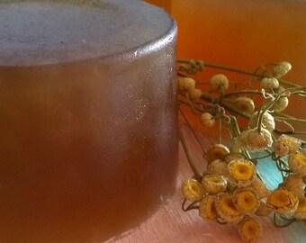 Chamomile handmade glycerin soap