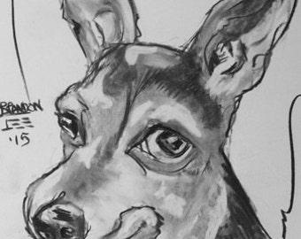 Chihuahua Custom Pet Portraits