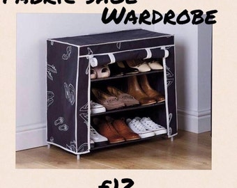 Fabric shoe Rack delivery to UK only