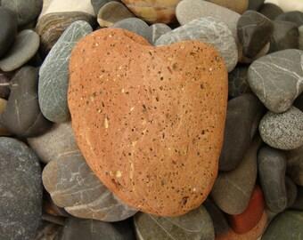 Fridge magnet-magnet for your fridge heart shaped genuine Mediterranean terracotta-# 052