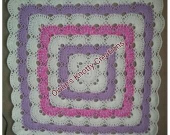 Hand Crocheted Virus Blanket